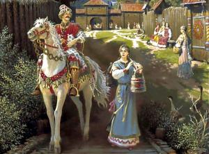 Русские народные сказки. А. Н. Афанасьев. Алёша Попович
