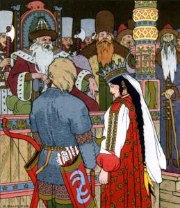 Русские народные сказки. А. Н. Афанасьев. Василий-царевич и Елена Прекрасная