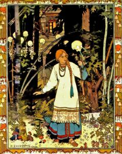 Русские народные сказки. А. Н. Афанасьев. Василиса Поповна