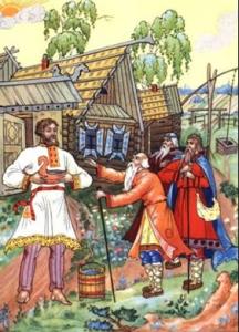 Русские народные сказки. А. Н. Афанасьев. Безногий и слепой богатыри