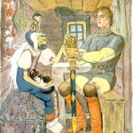 Русские народные сказки. А. Н. Афанасьев. Сказка о сильном и храбром непобедимом богатыре Иване-царевиче