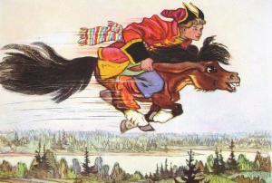 Русские народные сказки. А. Н. Афанасьев. Сивко-бурко