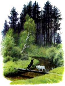 Рассказ Константина Дмитриевича Ушинского. Два козлика