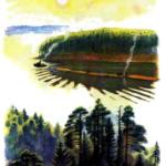 Рассказ Константина Дмитриевича Ушинского. Лес и ручей