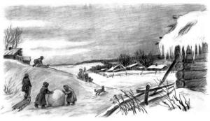 Рассказ Константина Дмитриевича Ушинского. Проказы старухи зимы