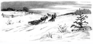 Рассказ Константина Дмитриевича Ушинского. Зима