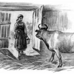 Сказки Константина Дмитриевича Ушинского. Коровка