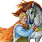 Сказки Константина Дмитриевича Ушинского. Слепая лошадь